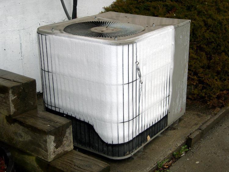 Frozen AC Unit Repair